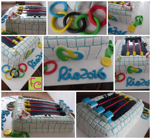 Bolo Raia Olímpica  - Olimpíadas 2016