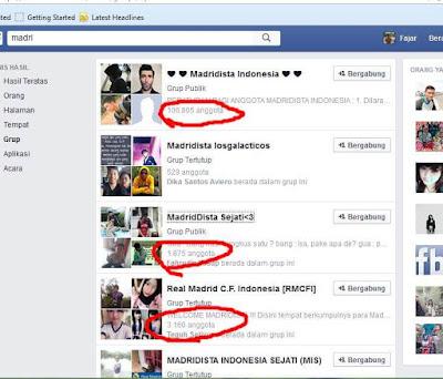 Mempromosikan produk di grup facebook yang sesuai dengan target market produk anda