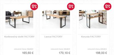 moderný nábytok Reaction, interiérový nábytok, nábytok z dreva a kovu