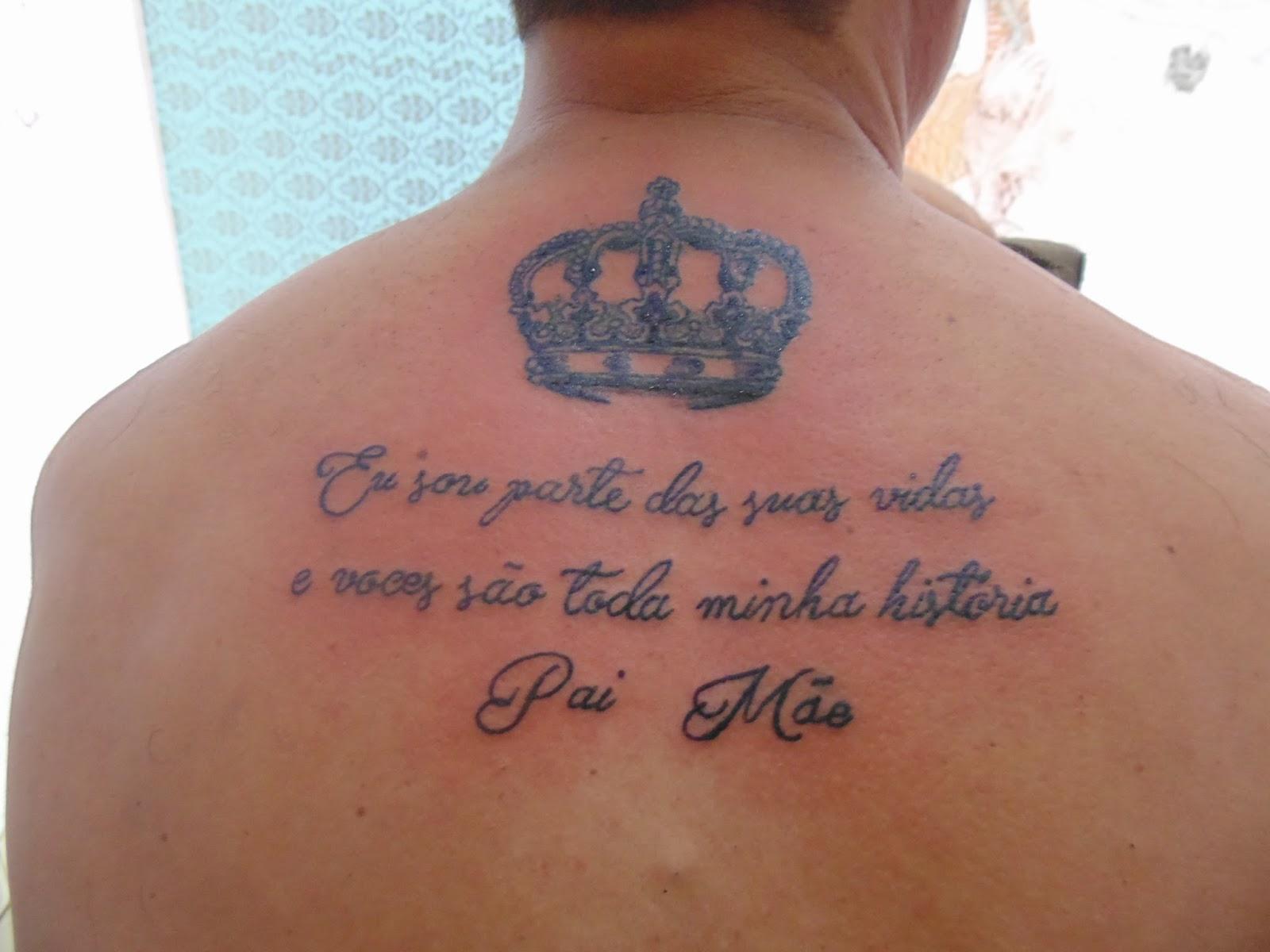 Frases De Pai E Mae Para Tatuar
