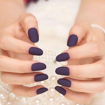 navy blue nail arts