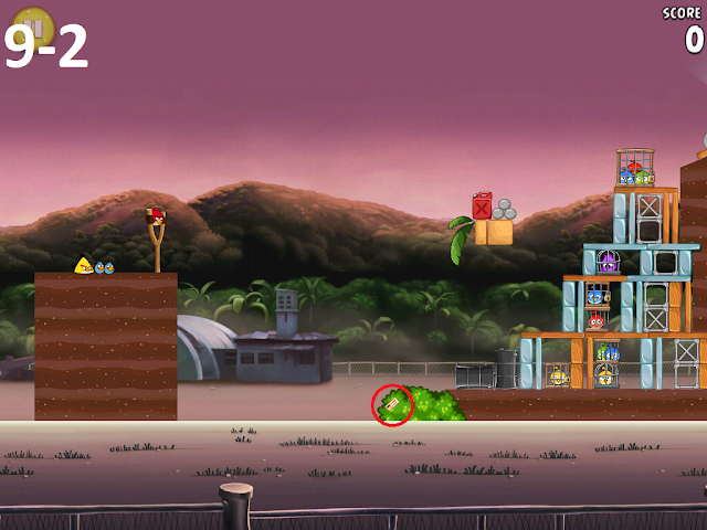 Angry Birds Rio - Airfield Chase 9-2
