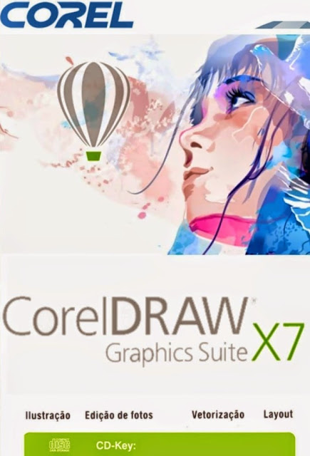 COREL DRAW X7 + SERIAL