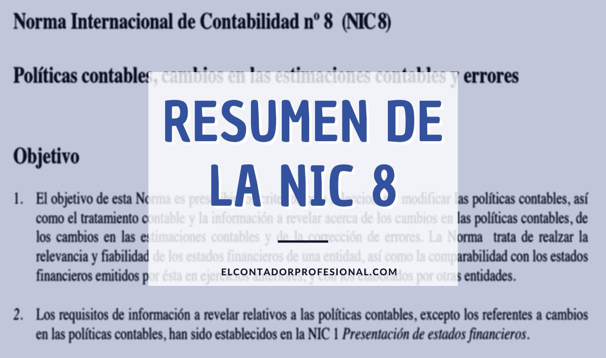 nic 8 resumen