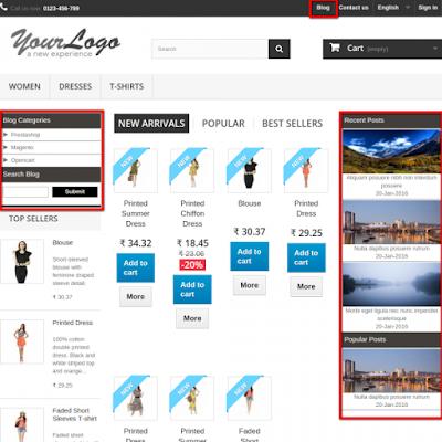 Prestashop Blog Module features | Knowband