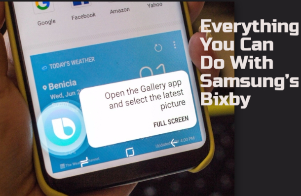 Everything You Can Do With Samsung's Bixby