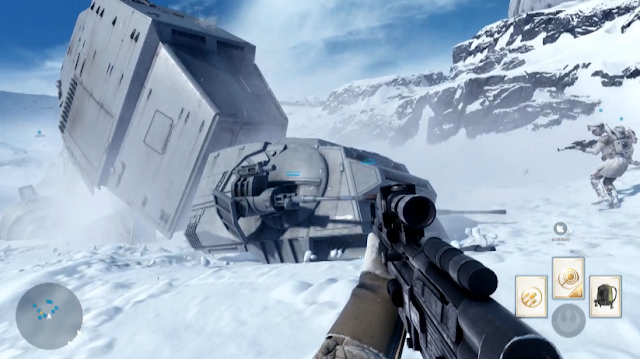 Star Wars: Battlefront gameplay screenshot footage picture walker
