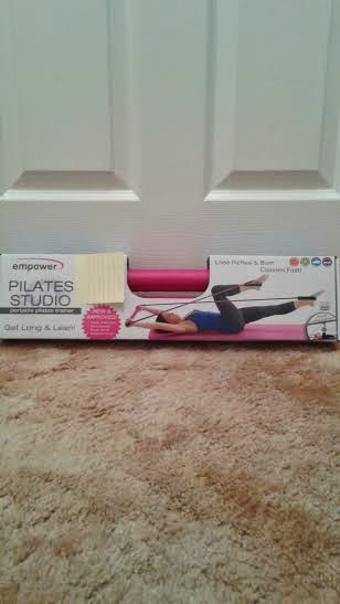 Get Long and Lean With The Pilates Studio Portable Pilates Trainer!- A Little Bit Of Something, For a great workout at home.