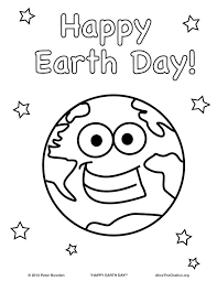 Preschool Coloring Pages For Earth Day Coloring Pages - Earth-day-printables-for-preschoolers