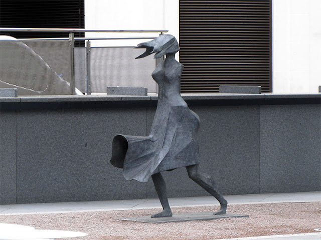 High Wind IV by Lynn Chadwick, City of London