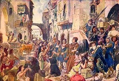 Roma e cristãos perseguindo os judeus através dos tempos