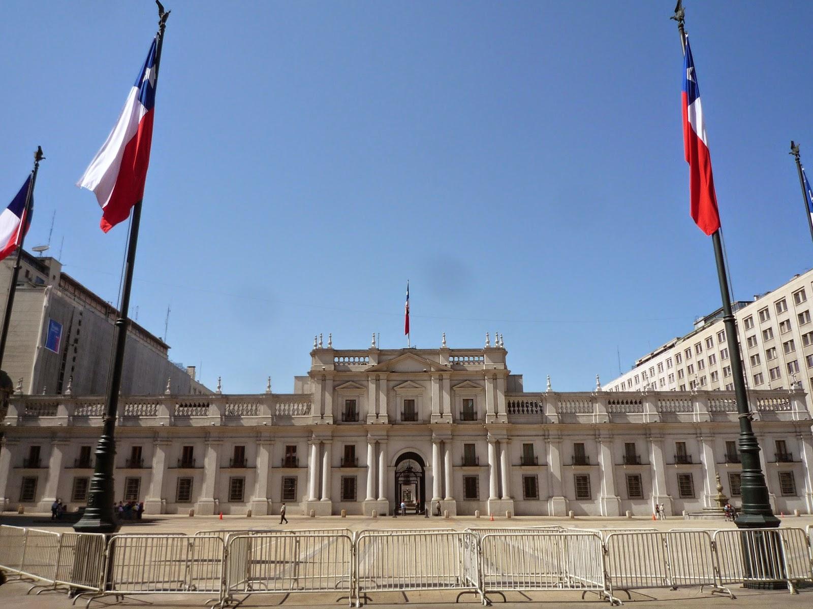 Palácio de La Moneda - Santiago/Chile