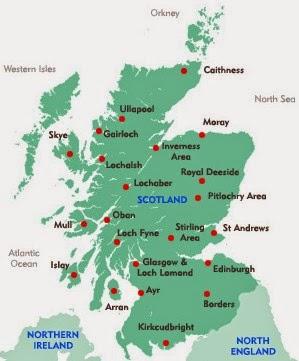 Free Printable Maps Maps Of Scotland