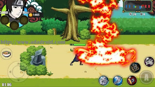 Download Sprite Senki : Sasuke Rinnegan Rep Sai by Haris