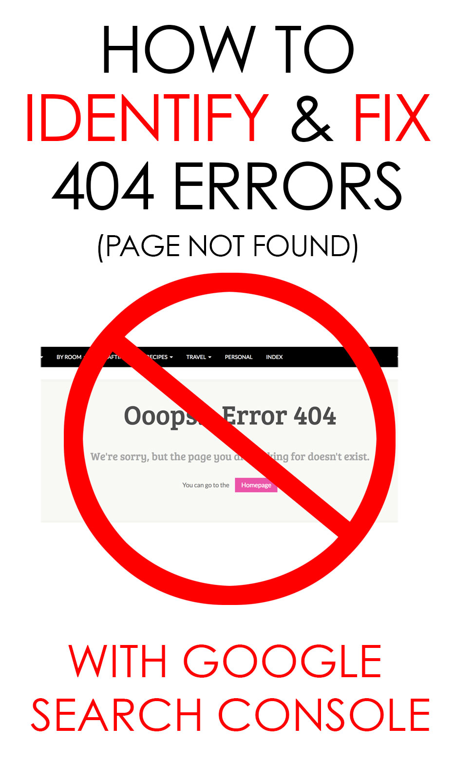 how to identify and fix 404 errors with webmaster tools kim six