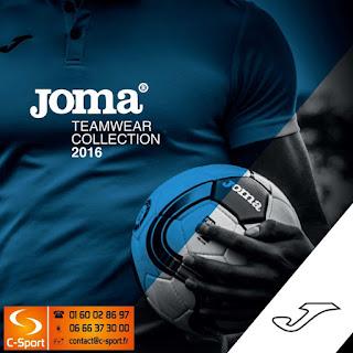 Télécharger le catalogue Joma 2016 en pdf