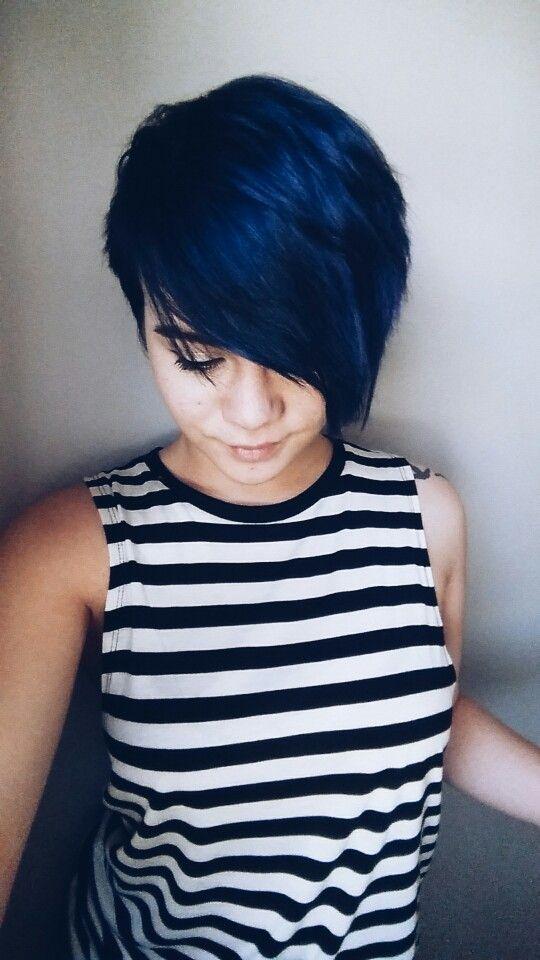 Stunning Midnight Blue Hairstyles Omg Love Beauty