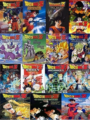 todos os filmes do dragon ball z dublado rmvb