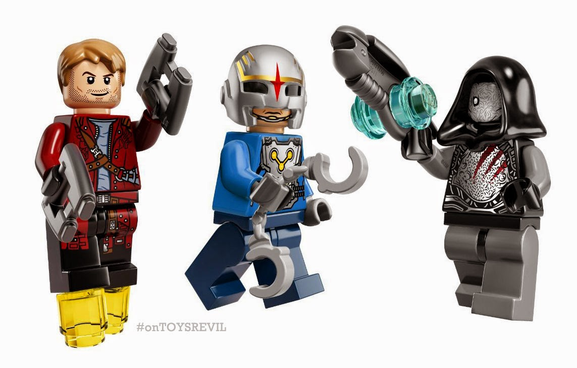 """Guardians of the Galaxy"" LEGOs Revealed"