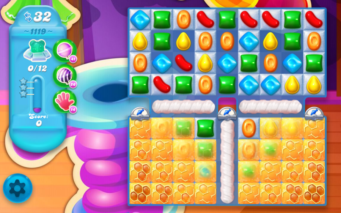 Candy Crush Soda Saga level 1119