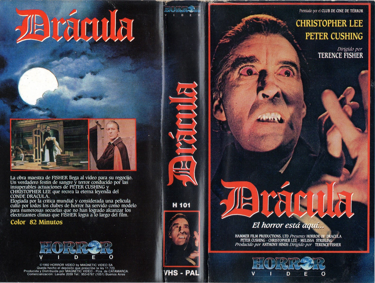 Drácula (1958) Terence Fisher / Hammer