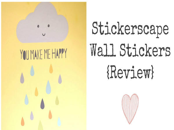 Stickerscape Wall Stickers {Review}