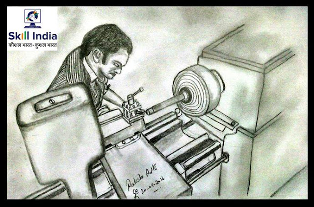 PENCIL DRAWING - SKILL INDIA