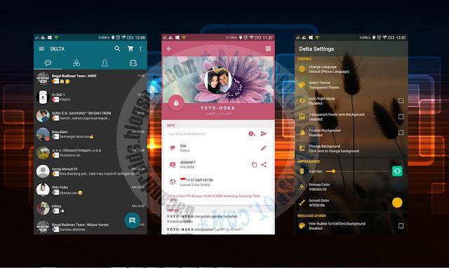 download BBM2 Mod Delta 3.4.0 Apk Versi Terbaru 2.13.0.26 Dual Clone