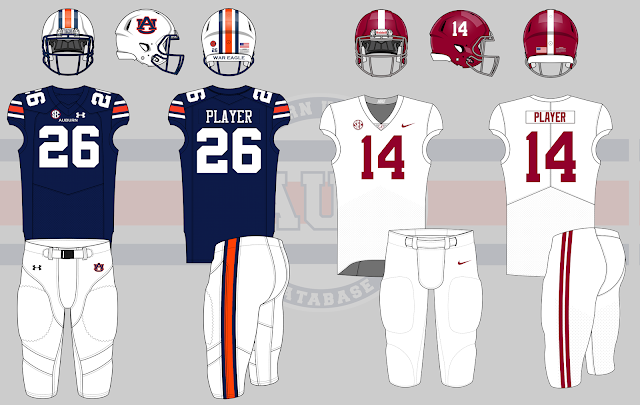 2017 iron bowl auburn alabama football