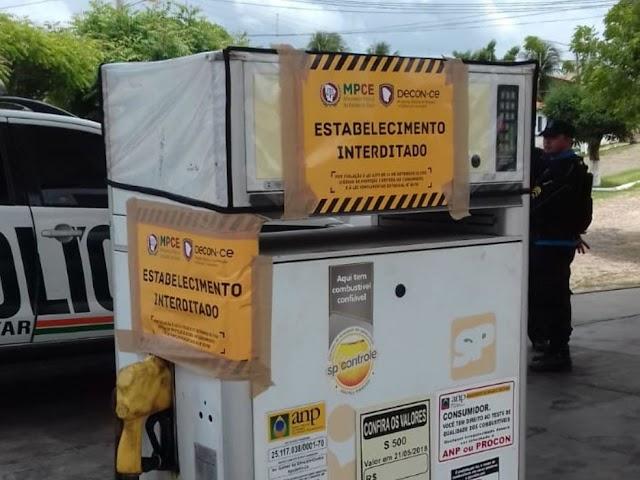 Operação do MPCE investiga adulteração de combustíveis em postos do Ceará