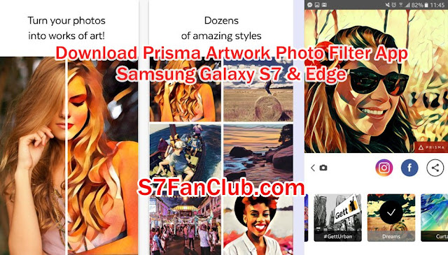 Download Prisma Artwork Photo Filter App APK Samsung Galaxy S7 Edge