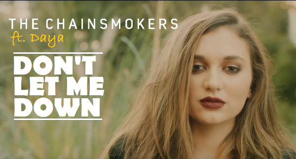 Lirik lagu The Chainsmokers Don't Let Me Down terjemahan