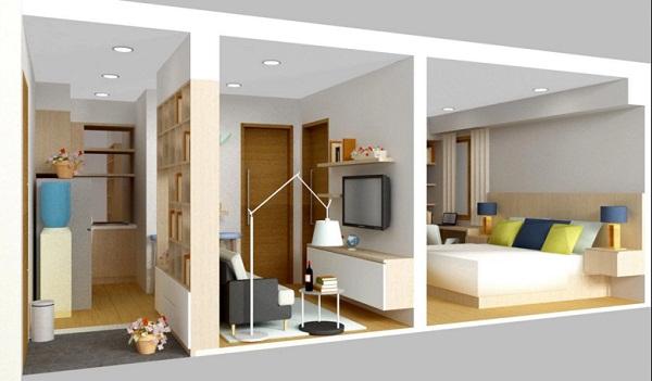 Model Desain Kamar Tidur Rumah Minimalis Terbaru Type 21 ...