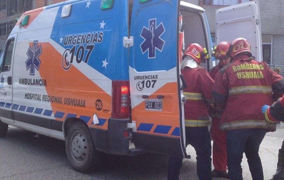 Peaton atropellado en Ushuaia