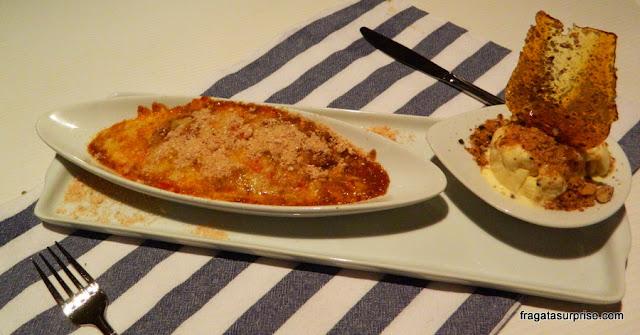 Cartola, sobremesa do Restaurante Corveta, Fernando de Noronha