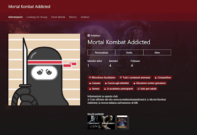 Mortal Kombat Addicted - Club Xbox