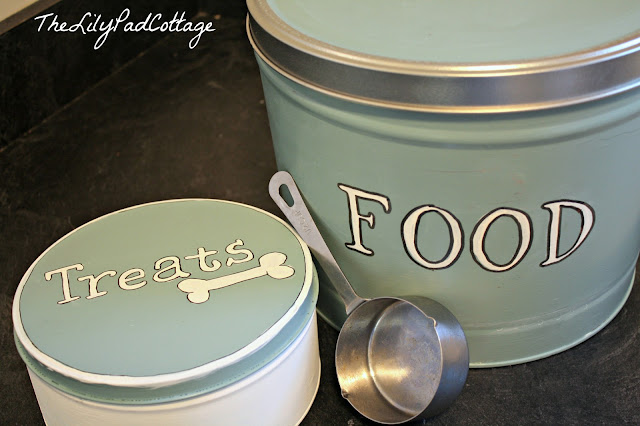 repurposed popcorn tins