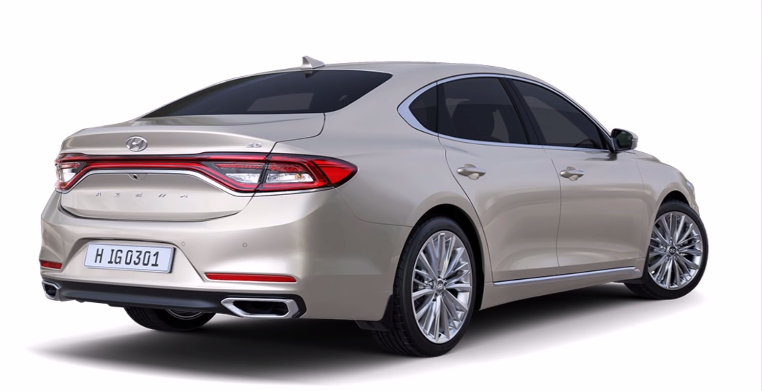 2018 Hyundai Azera Interior And Exterior Pictures Gallery