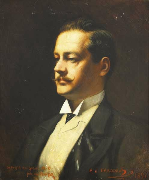 Dr. Thomas Edwin Foster MacGeagh, 1891  (From Whyte's Auctioneers website)