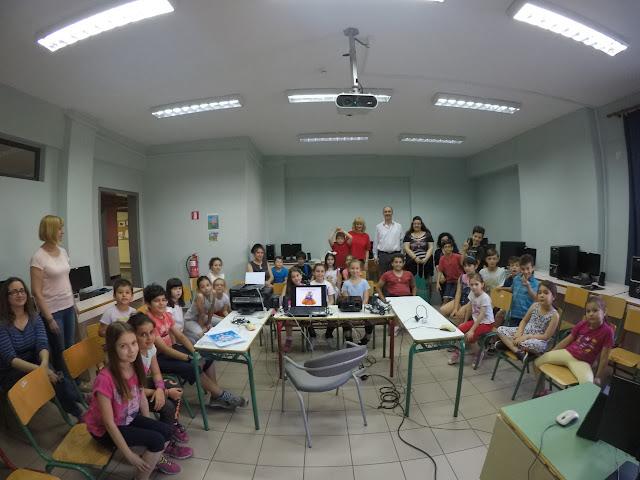 Γνωρίζω, παίζω  και μαθαίνω με τους Ηλεκτρονικούς Υπολογιστές στα ΚΔΑΠ του Δήμου Λαρισαίων