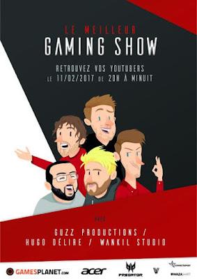 Le meilleur gaming show tours 2017 affiche