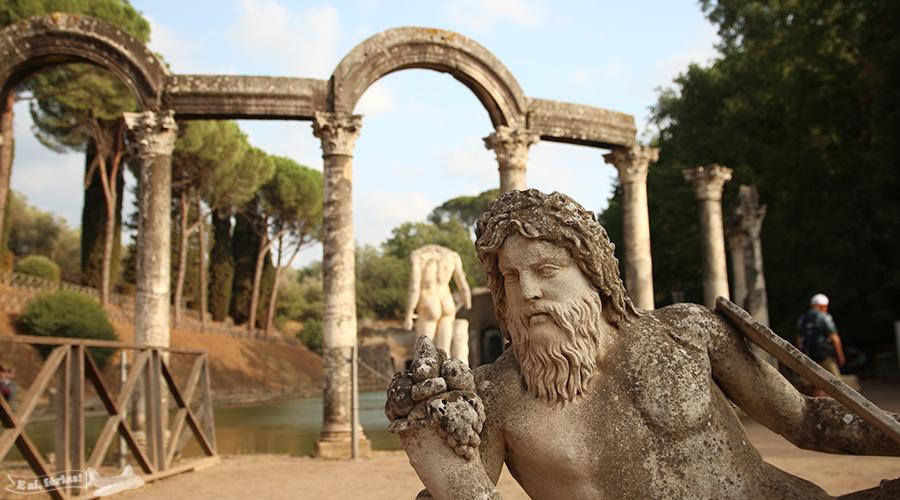 Vila Adriana, Tivoli, Roma, Itália
