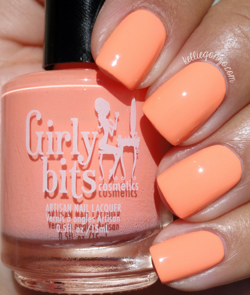 Girly Bits Peach Slapped