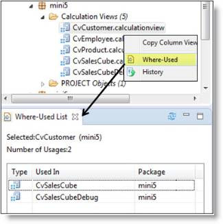 SAP HANA Analysis and Calculation Views