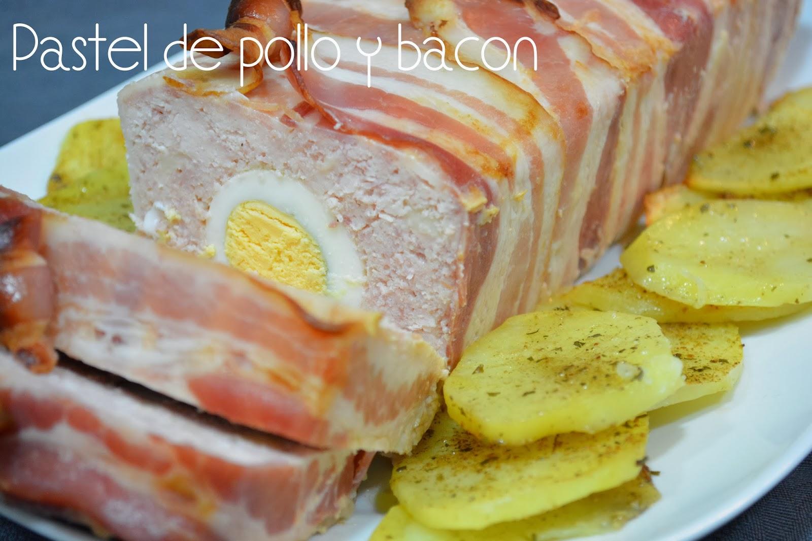 Pastel De Pollo Y Bacon