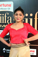 Samyukta Hamod in Red Crop top Brown Skirt at IIFA Utsavam Awards 007.JPG