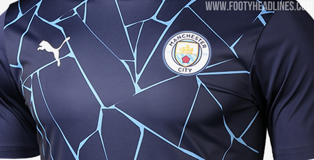 Inspired By Home Kit: Manchester City 20-21 Home Pre-Match ...