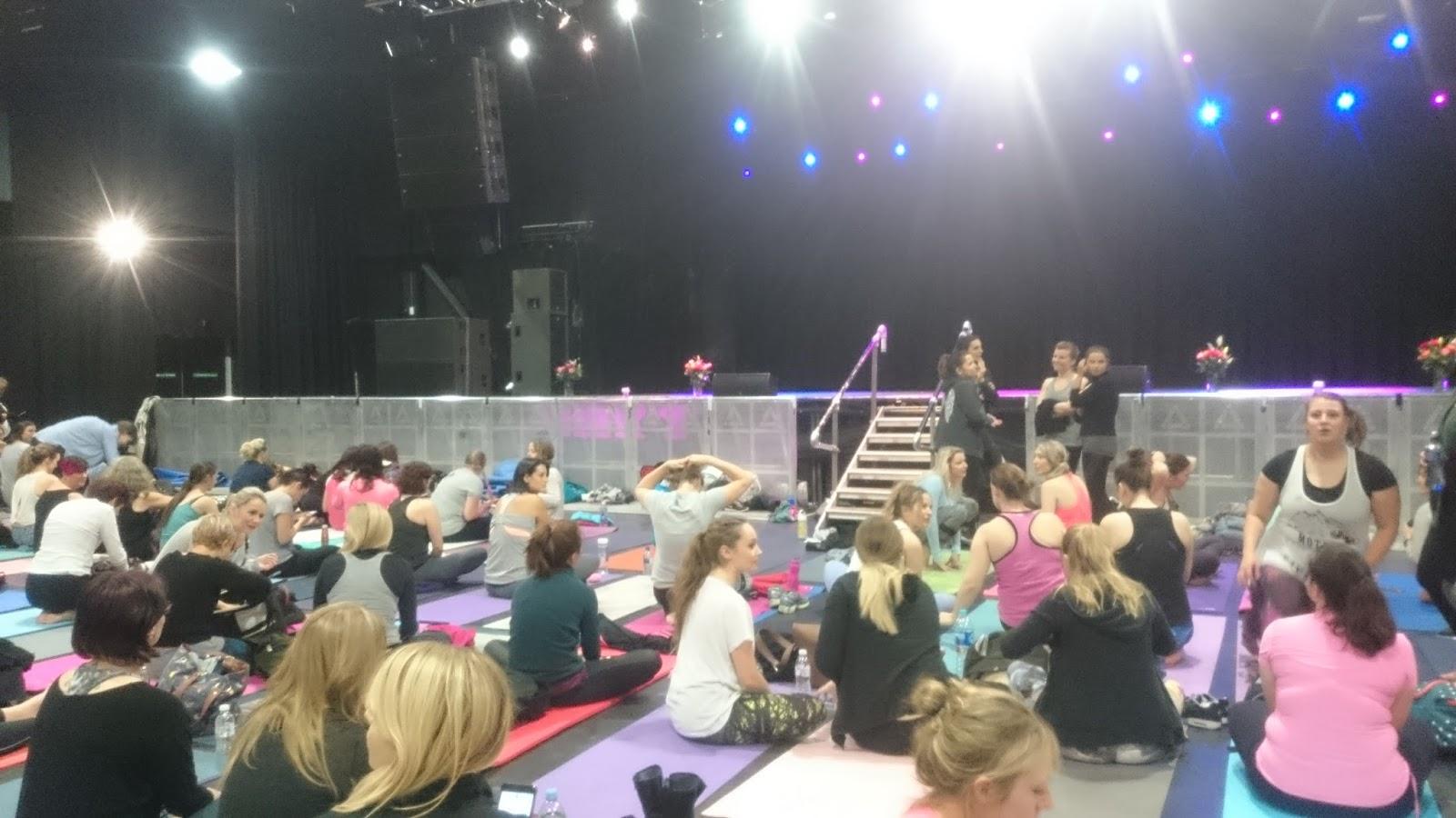 Yoga with Adriene - Find what feels good roadshow | Rina Deb