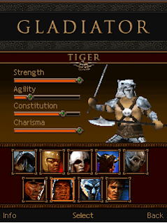 Gladiator game ponsel Java jar