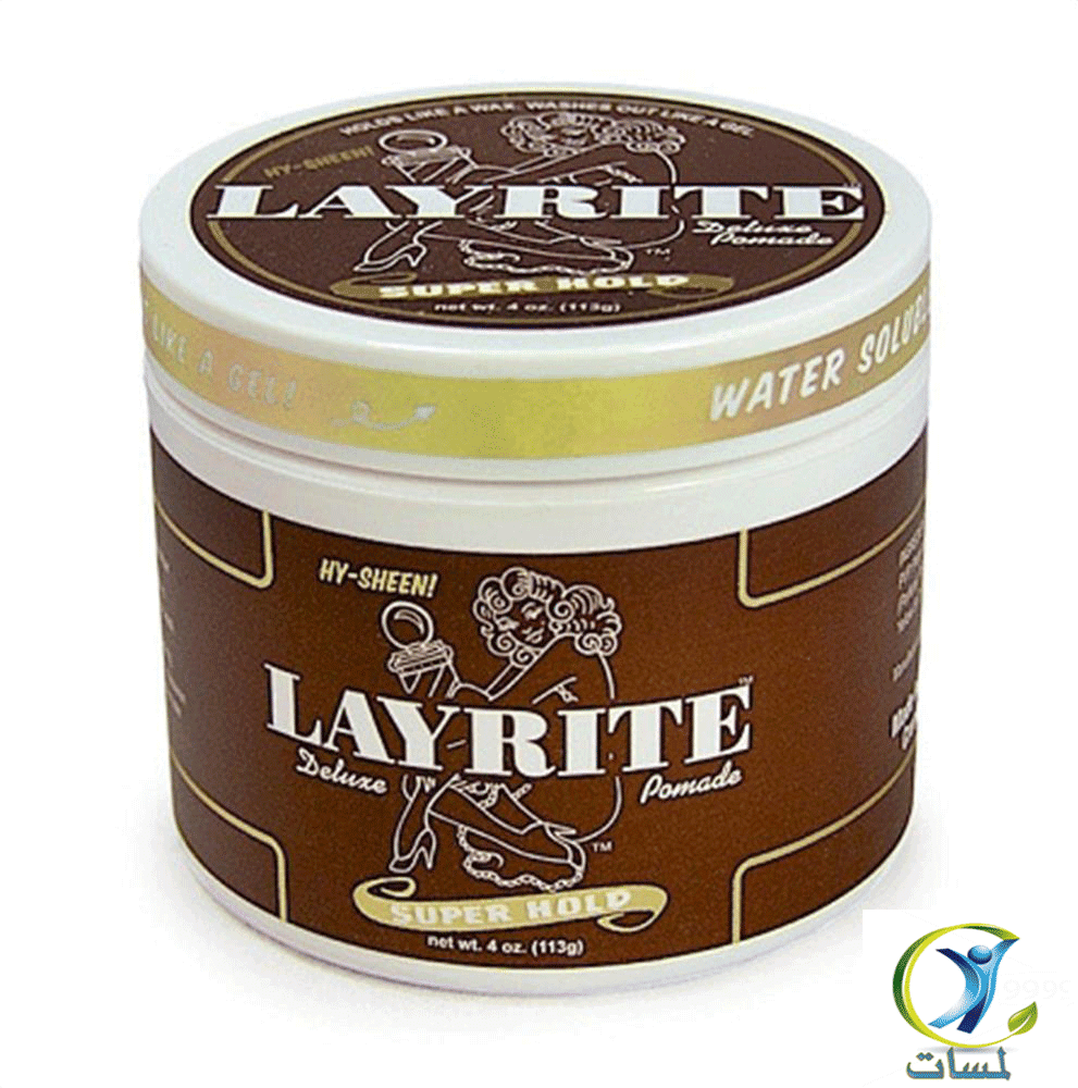 Layrite 4 oz Super Hold Pomade